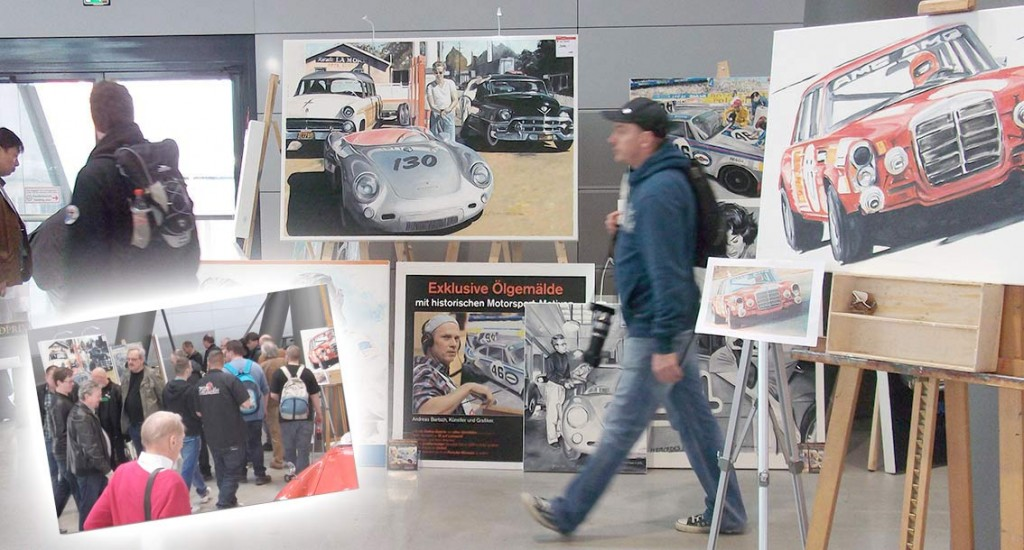 Retro classics 2015 crowding at the stand englisch for Design apartment zuffenhausen